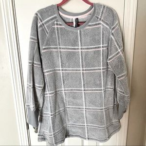 Jaclyn Intimates Cosy Plaid Tunic
